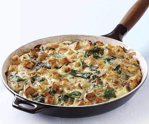 Strata by Fine Cooking. A strata is essentially a savory bread pudding ...