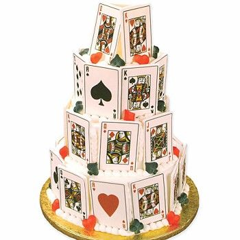Cake Designs Playing Cards : Playing Cards cake Birthday Party ideas Pinterest