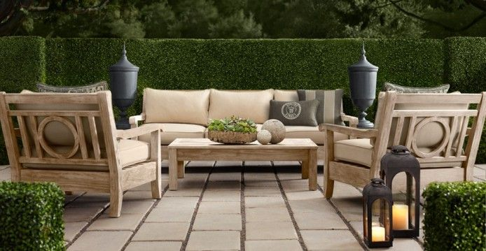 Restoration Hardware Outdoor Furniture Outdoor Escape Pinterest