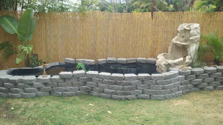 Koi Pond Backyard : Our backyard koi pond  Gardening  Pinterest
