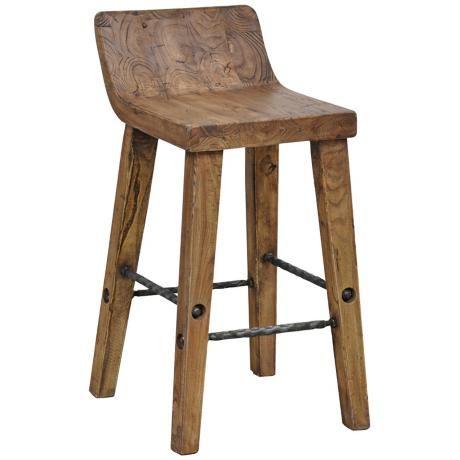 arturo 30 low back wood bar stool. Black Bedroom Furniture Sets. Home Design Ideas