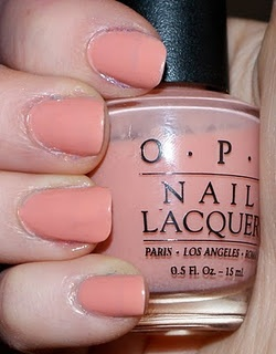 "Maryland Crabcake"" -- awesome nail polish name. Pretty nice color too ..."