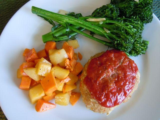 Turkey Mini Meatloaves | Food stuff - Meatloaf & Ham Loaf | Pinterest