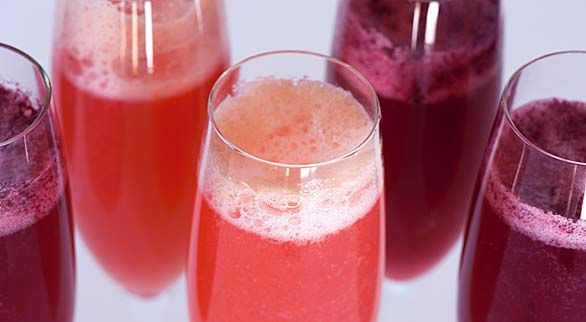 Berry Bellini Cocktail | Recipe