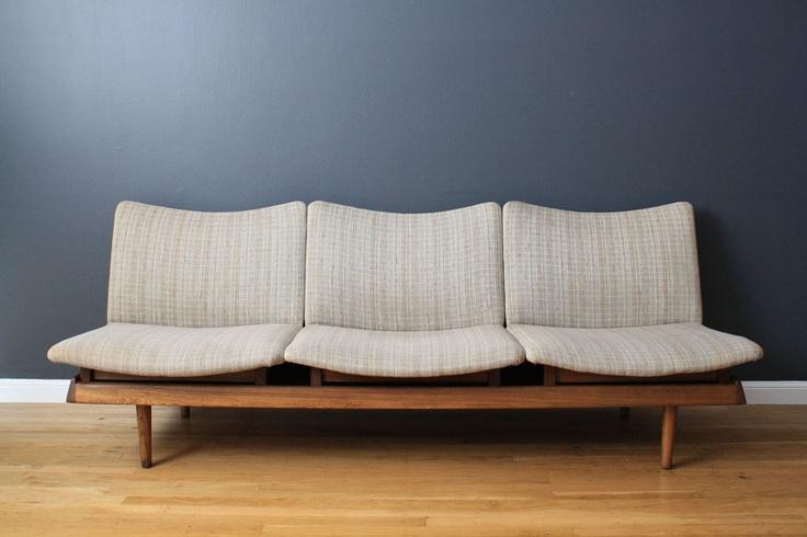 Mid-Century Modern Modular Seating/Sofa
