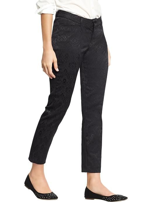 Womens the a jacquard ankle pants clothes and shoes pinterest