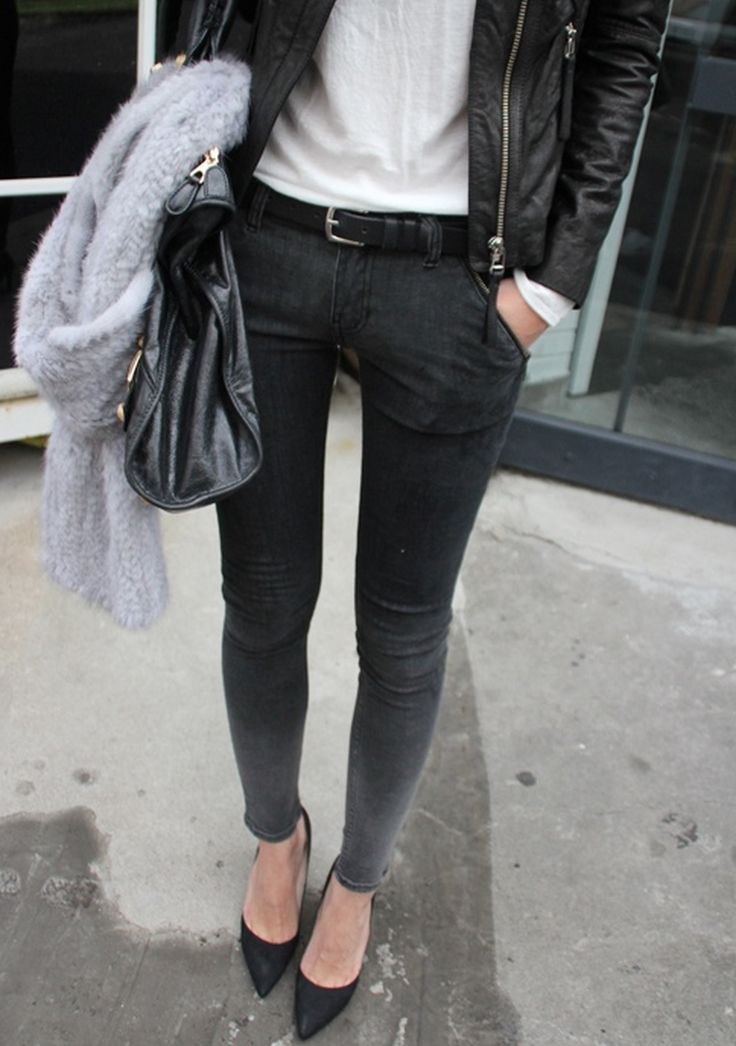 Skinny Jeans And Heels | The Outfits. | Pinterest