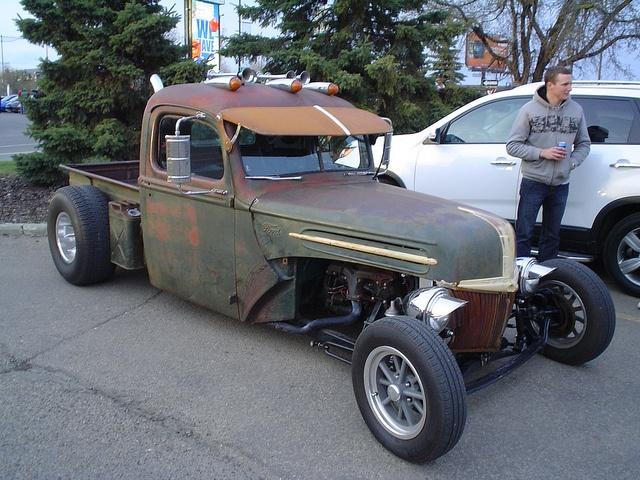 1947 truck rod rat rods amp betties pinterest