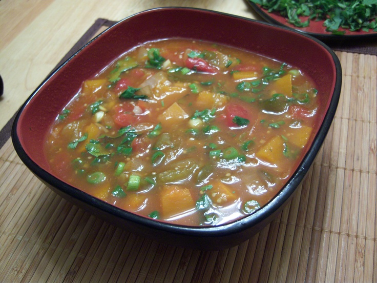 Mexican Hot and Sour Soup | Vegetarian Soup | Pinterest