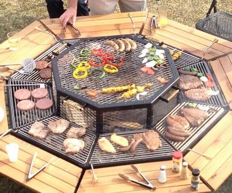 Pin by dwight houser on gizmos gadgets pinterest - How to build a korean bbq table ...