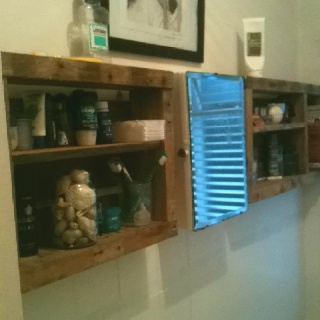 Bathroom on Pallet Bathroom Shelves    Mmm Cool   Pallet Diy