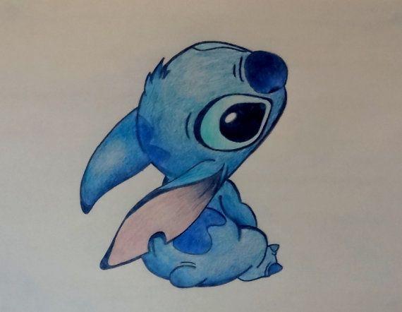Stitch Drawing Cute Cute stitch from disney's lilo