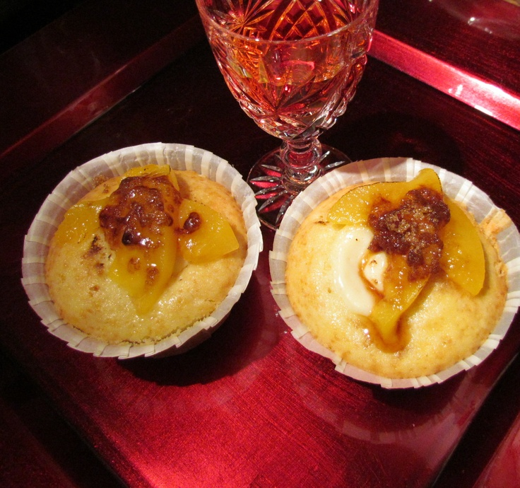Peach Cobbler cupcakes | Sweet Treats by Andy's Kandy | Pinterest