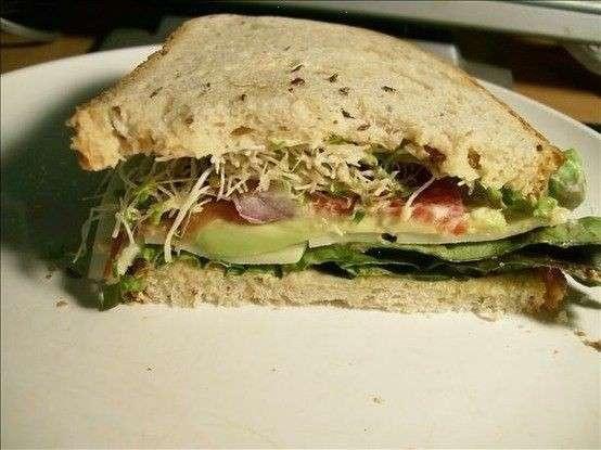 Avocado Sandwich | Food & Drinks | Pinterest