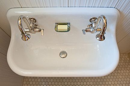 Vintage Trough Sink : cool sink Bathroom Pinterest