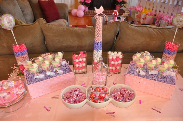 baby shower candy table baby boy candy table pinterest