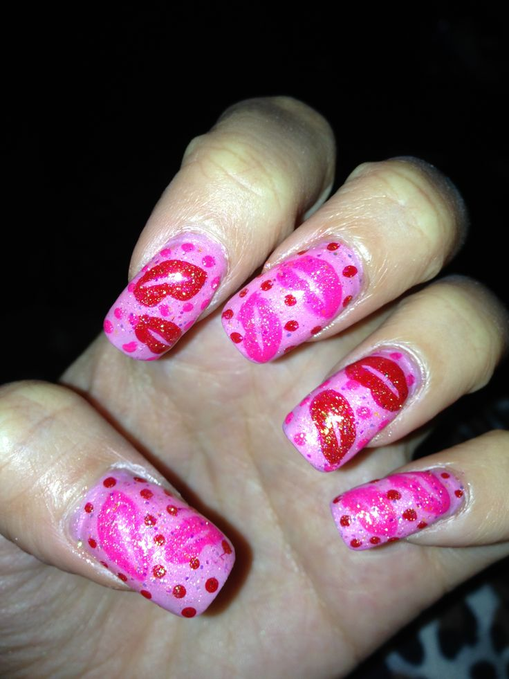 Nail Designs Lips Nail Art Designs