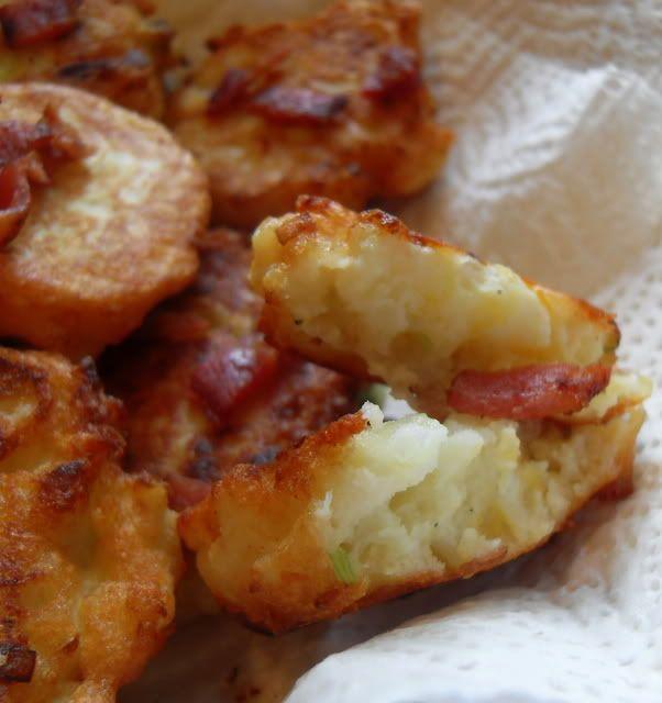 Cauliflower Cheese Fritters | Food | Pinterest