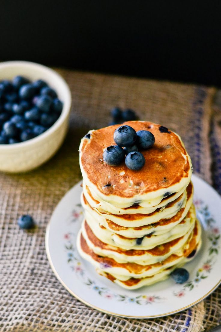 Lemon. Blueberry. Pancakes. Now. | Food And Recipes | Pinterest