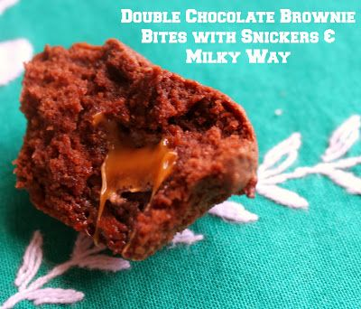 ... Milky Way Double Chocolate Brownie Bites {With a Coupon!} #