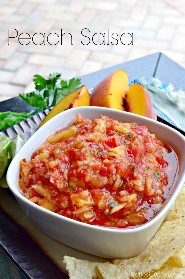 Peach Salsa Recipe — Dishmaps