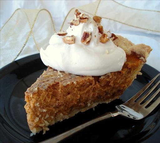 Praline Pumpkin Pie Recipe - Food.com - 3567