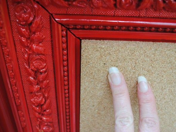 Custom cork board diy pinterest for Diy cork board