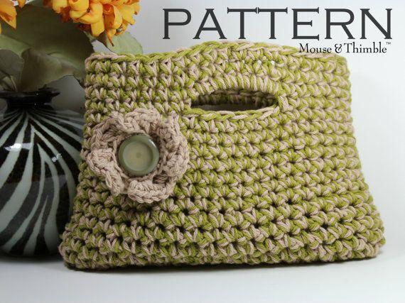 Easy Handbag Pattern : Easy Crochet Patterns
