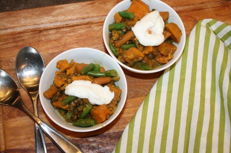 Sweet Potato & Lentil Stew | Food on Friday: Lentils & Pulses | Pinte...