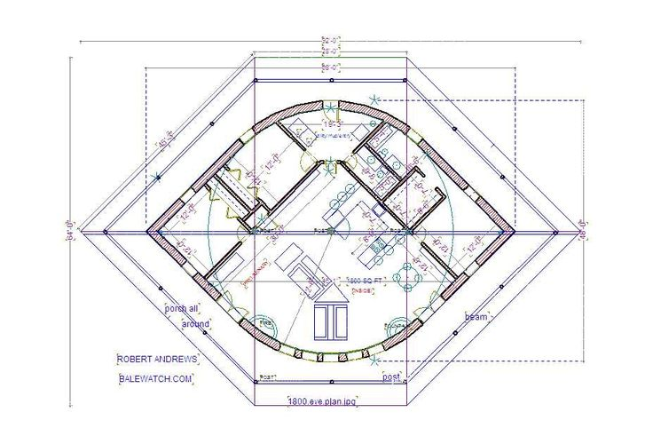Straw bale house plan the eye straw earth yurt a Strawbale home plans