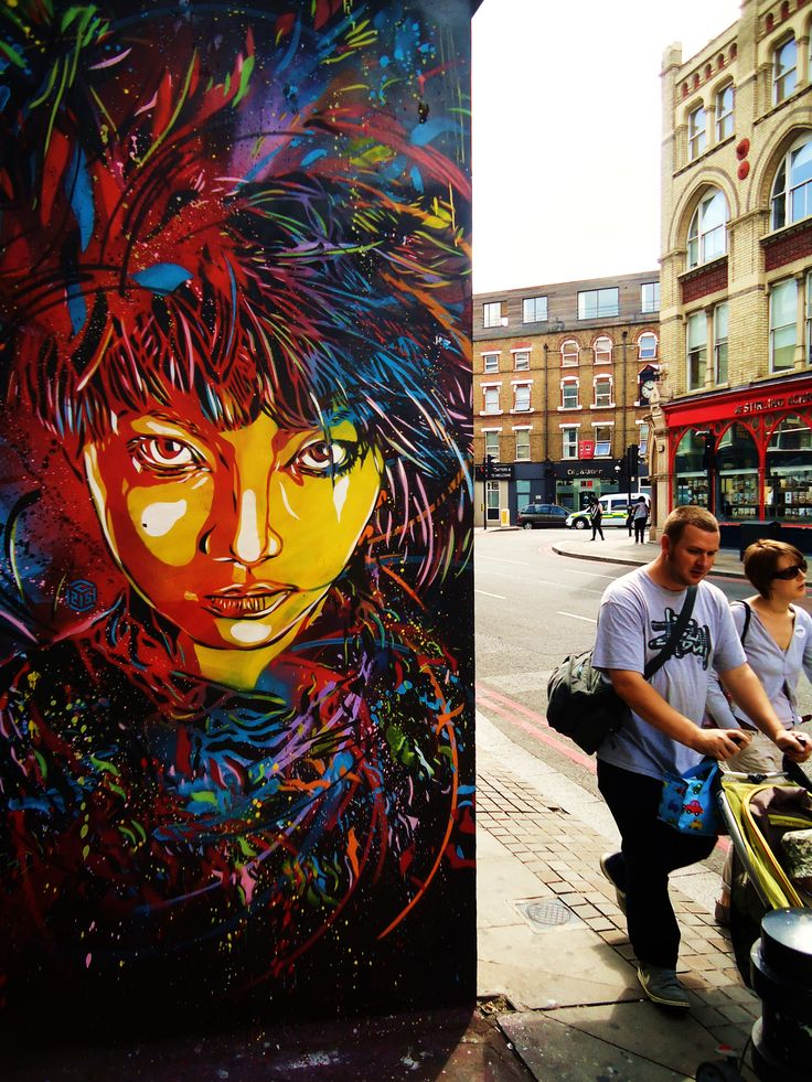 By C215. Love the colors on this piece.