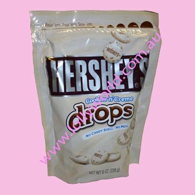 Hersheys Cookies n Creme Drops 226g | American Lollies and ...