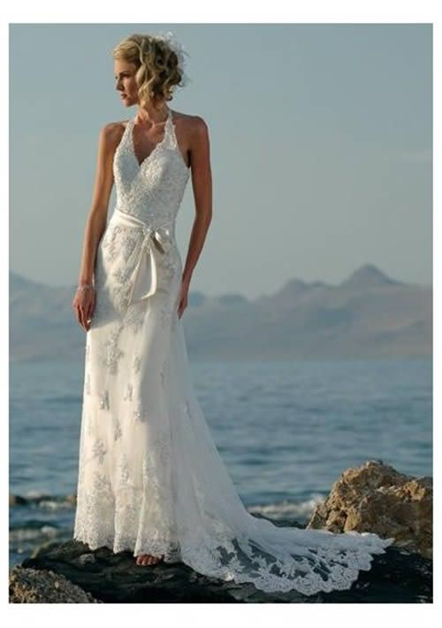 White hawaiian wedding dresses pictures