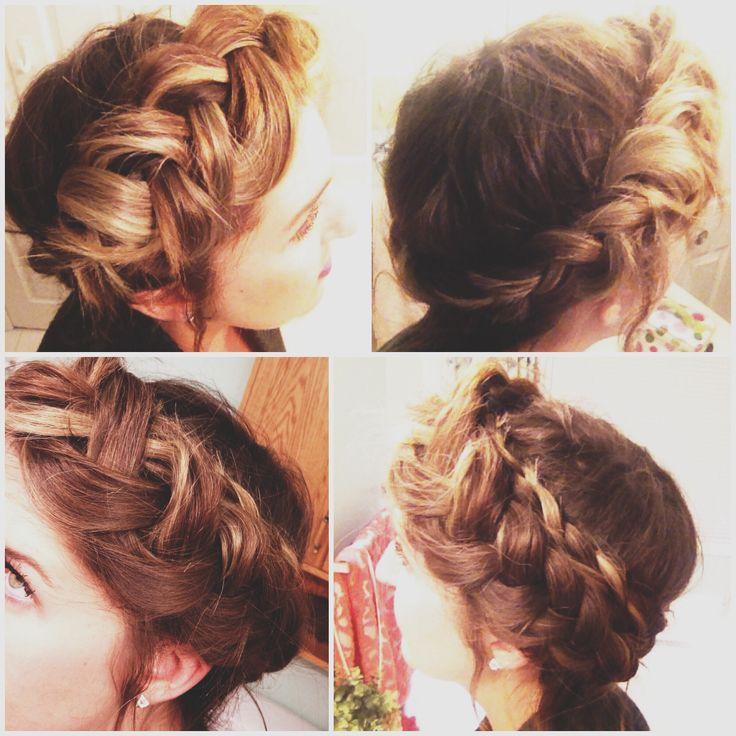 halo braid | Braids | Pinterest