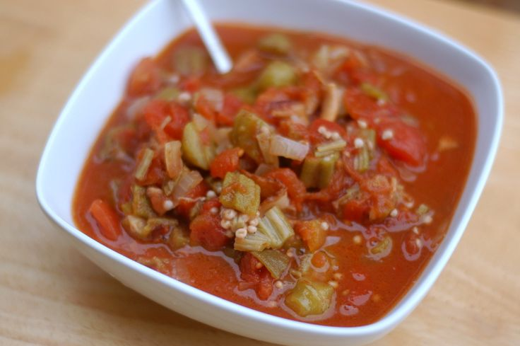 Tomatoes and Okra | Comforting Eats Cookbook Recipes | Pinterest