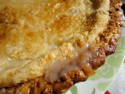 Hoosier Sugar Cream Pie | Pies | Pinterest