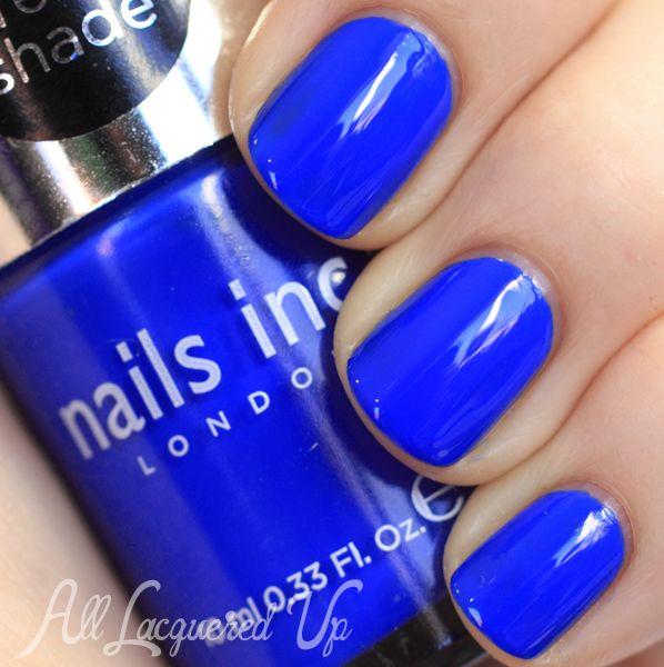 Cobalt Blue Nail Polish