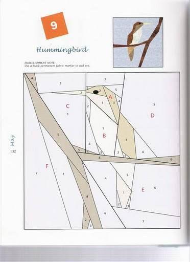Hummingbird PP Pattern