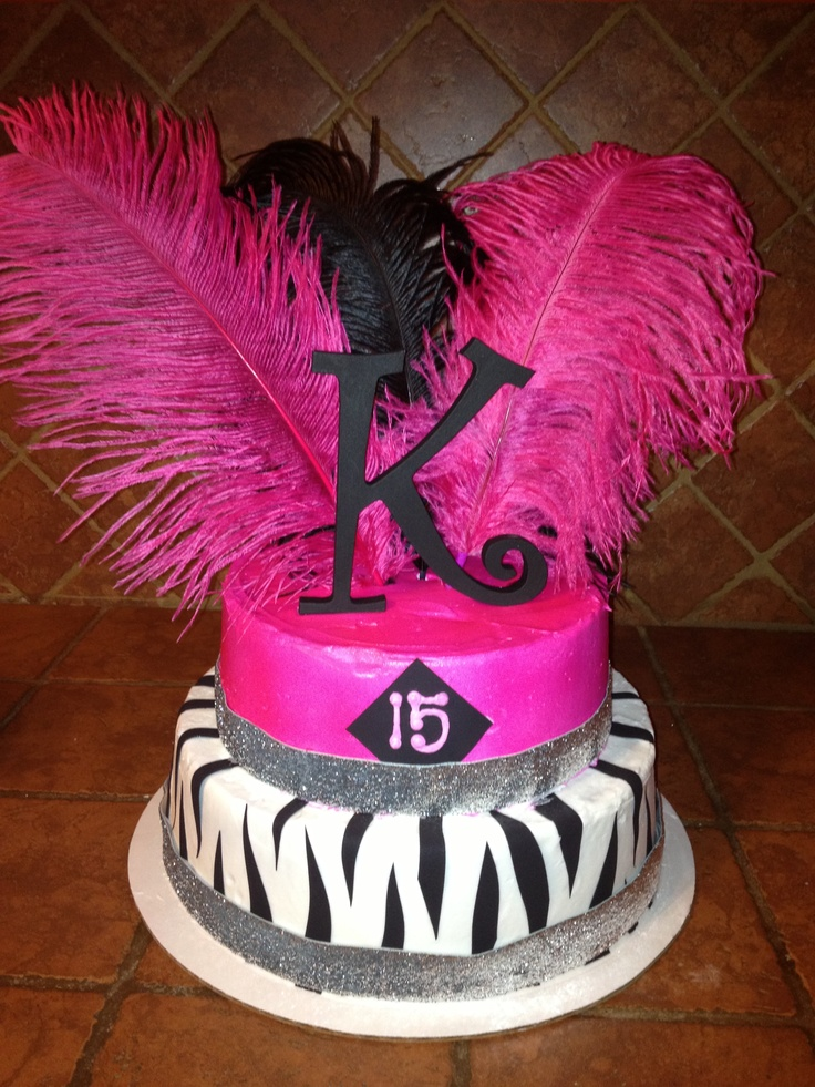 Cake Ideas For Girl S 15th Birthday Prezup for