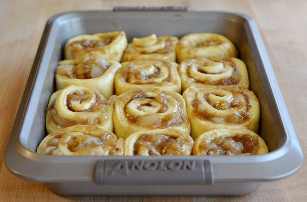 Caramel Apple Roll-Ups Recipes — Dishmaps