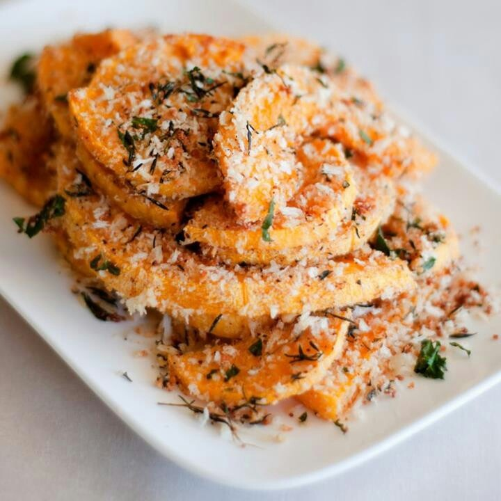 Crusted butternut squash with thyme | Food Porn | Pinterest