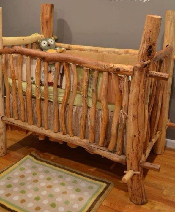 Rustic crib Bathrooms