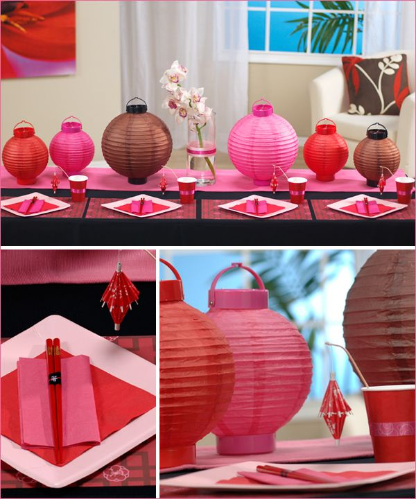 Asian themed party events asian inspired pinterest for Asian party decoration