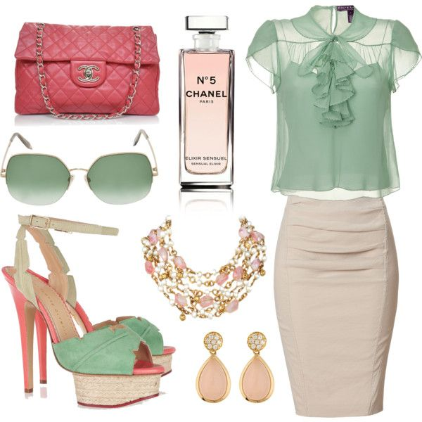 Chanel, created by tiffany-gaut on Polyvore  AHHHH I LOVE THIS!!!
