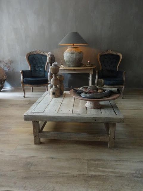 ♅ Dove Gray Home Decor ♅  French-Flemish in the Netherlands