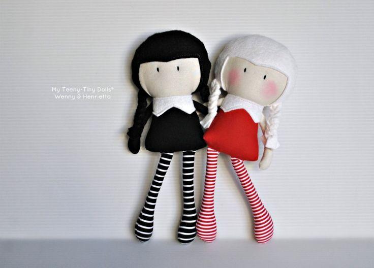 My Teeny-Tiny Dolls® Wenny & Henrietta