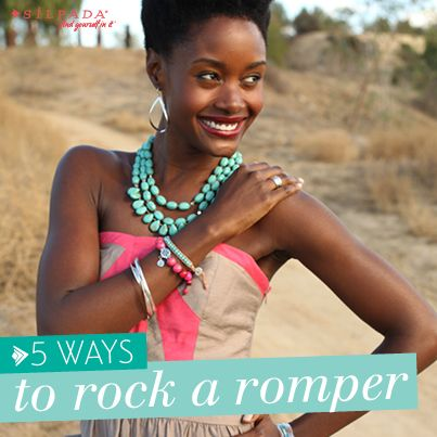 5 Ways to Rock a #Romper   #WomensFashion #Silpada