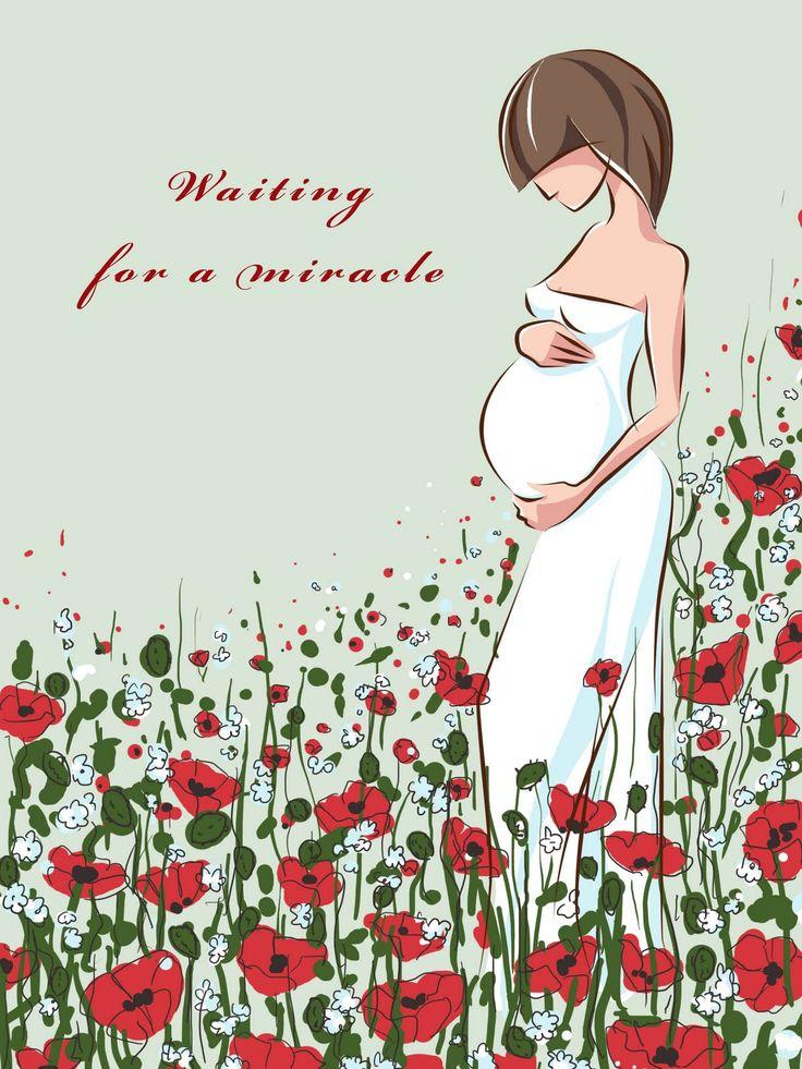 С днем рождения беременную своими словами 76