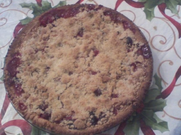 Apple Cranberry Walnut pie | Favorite Recipes | Pinterest