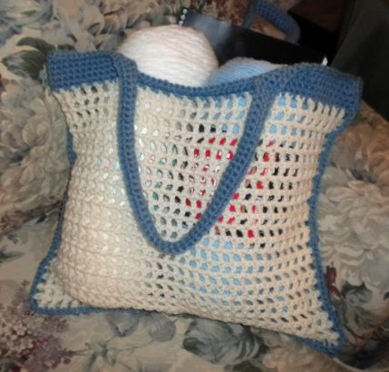 Crochet Mesh Bag Pattern Free : Free Crochet Mesh Bag Pattern. crochet: bags, purses, sachets Pi ...